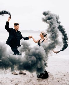 ———> TAG someone who needs to see this ———> Image by Maggie Joseph Shepard ———> Smoke Bomb Photography, Couple Photography, Engagement Photography, Wedding Photography, Halloween Photography, Photography Ideas, Engagement Pictures, Engagement Shoots, Wedding Pictures