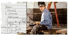 Manuel Colorado, 36, was killed last year as he installed decking at a new building in Williamsburg, Brooklyn. At left is part of a federal safety inspector's notes on the accident.