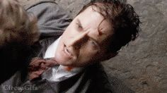 Richard Armitage in death scene: Heinz Kruger biting his cyanide capsule (suicide)