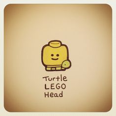 Turtle LEGO Head #turtleadayjuly - @turtlewayne- #webstagram