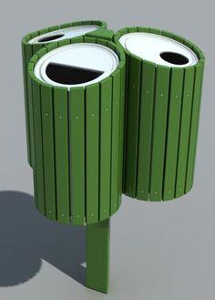Recycle Bins_Outdoor