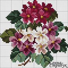 This Pin was discovered by Тат Cross Stitch Bird, Beaded Cross Stitch, Cross Stitch Flowers, Cross Stitch Charts, Cross Stitch Designs, Cross Stitching, Cross Stitch Embroidery, Hand Embroidery, Cross Stitch Patterns