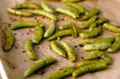 roasted sugar snap peas roasted sugar snap peas 450 degrees for only ...
