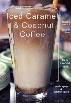 Iced Caramel Coffee Recipe ~ With a Twist! Caramel Coffee Recipe, Iced Caramel Coffee, Espresso Coffee, Coffee Coffee, Coffee Drink Recipes, Coffee Drinks, Latte, Coffee Klatch, Cocktails