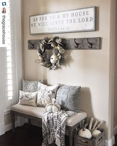 What a gorgeous shot of these Painted Fox hooks and that Magnolia Market sign! Quite an honor to share a tag with M.M. and even more so in Jennifer's | @thegracehouse | gorgeous home!  #Repost @thegracehouse ・・・ I was tagged by the lovely Jenny @finishingtouchdecorbyjenny to share a fall photo for the final day of #OurLoveForAutumn.  It was another dark, cool, rainy day here, but on the upside, we did finally get a few things hung in the entryway.  I'm kind of in love with this sign from…