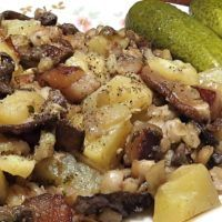 Recept : Jihočeský maňas | ReceptyOnLine.cz - kuchařka, recepty a inspirace Gnocchi, Potato Salad, Potatoes, Ethnic Recipes, Potato