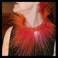 Anoush Waddington Polypropylene Plastic Jewelry