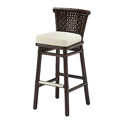 mcguire furniture laced rawhide barcounter stool lo 355 antalyaa bar stool