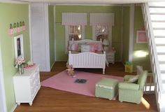 Curtain ideas for American Girl doll house