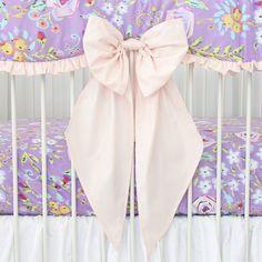 Blush Crib Bow