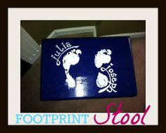 FOOTPRINT STOOL