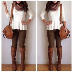 Cute fall outfit <3