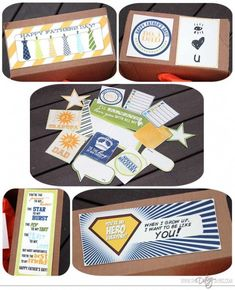 Fun free printables for a Father's Day Care Package