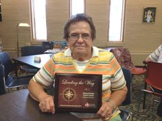 Congratulations to the Sidney-Shelby County Senior Center - proud Platinum partner for 2013 in the CBC LifeSaving Ambassadors Club! CBC presented the highest award for blood drive excellence to coordinator Lola Heintz. The 6 blood drives held in 2013 produced 343 units of blood! Thanks to everyone at the Senior Center for your continued support of local blood donations!