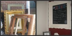 Curb Alert!: frames to Framous - perfect for the kitchen or entry way notes to the family