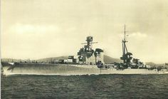Trento class 8 in heavy cruiser Bolzano, 1936: built 2 years after her sisters, she was significantly different. Her war culminated in her torpedoing by the British submarine HMS Unbroken in August 1942. Still under repair, she fell into German hands in La Spezia after the Italian surrender and was finally immobilised by underwater attack in June 1944.