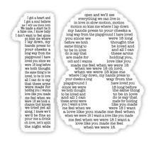 One Direction - 18 [Black] Sticker
