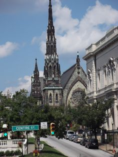 Baltimore, MD Architecture  #howiroll Baltimore, Maryland, Barcelona Cathedral, Architecture, Building, Travel, Arquitetura, Buildings, Viajes