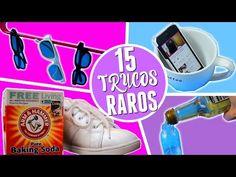 15 TRUCOS RAROS QUE TODA MUJER DEBERIA SABER!! - YouTube