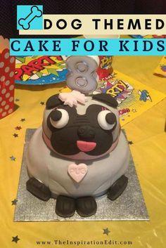 Dog Themed Birthday Cake For Kids