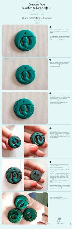 Wip Tomb Raider necklace Part2 by Linu3 on DeviantArt
