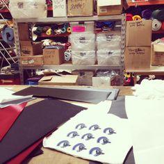 #wemakecoolstuff #fabtex #embroidery #applique #fashion #design #custom #screenprint