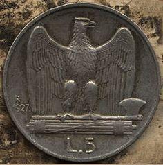 Aquilotti – Set di 4 Monete da 5 lire (1927-1930)