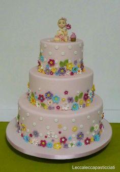 Flower cake... Ispirata dal web
