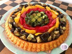 Crostata morbida salata Learn To Cook, Antipasto, Bon Appetit, Starters, Fruit Salad, Finger Foods, New Recipes, Acai Bowl, Pizza