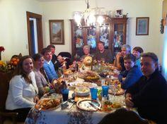 Aunt Dot's Thanksgiving, L.I. NY-sven vik