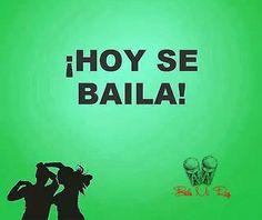 Hoy se baila Instructor De Zumba, Zumba Logo, Salsa Bachata, Salsa Dancing, Dance Quotes, Lets Dance, Good Mood, Dance Music, Quotes To Live By