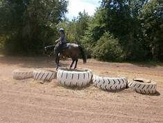 horse training obstacles Yahoo Image Search Res horse training obstacles Yahoo Image Search Res - Art Of Equitation Trail Riding Horses, Horse Riding Quotes, Horse Trails, Extreme Trail, Horse Exercises, Training Exercises, Horse Games, Horse Riding Games, Westerns