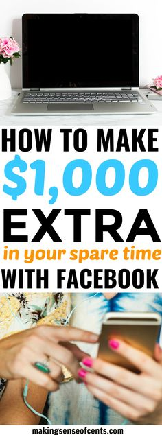 35 ways to make money for 2018 pinned over 5000 times how to make 1000 extra in your spare time with facebook fandeluxe Gallery