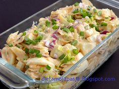 Polish Recipes, Tortellini, Coleslaw, Snacks, Potato Salad, Salad Recipes, Catering, Food And Drink, Veggies