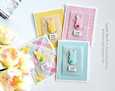A set of Easter cards - Simon Says Stamp March Card Kit! | Handmade by G3 | Bloglovin'
