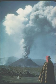 What It Was Like To See A Volcano Being Born