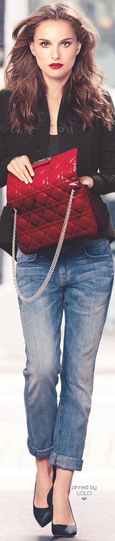 Natalie Portman for Dior   LOLO❤︎ • Street CHIC • ❤️ Babz ✿ιиѕριяαтισи❀ #abbigliamento