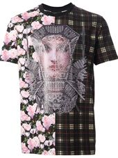 Givenchy - mixed print T-shirt