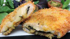 Libritos de lomo con queso y berenjena | #recetas #queso