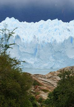 Ice Monster by AuldCom. Picture of the Perito Moreno glacier taken from Brazo Sur shore of the Lago Argentino. This monster of 30km long, 5km wide and 60 meters high, is one of the only glacier not regressing.