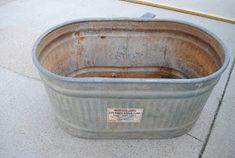 Here is the story of our recycled water trough......     My son, Wyatt, made a TACK BOX from an old rusty WATER TROUGH we had here a...