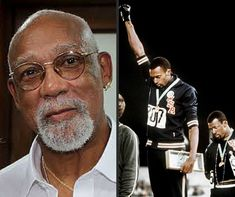 Black Then-John Carlos was born in Harlem, New York in 1945. After graduating from Machine Trade and Medal High School, he was awarded a full track and field scholarship to East Texas State University (ETSU). He attended ETSU for one year, single-handedly winning the schools first and only track and field Lone Star Conference Championship.
