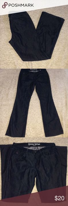 Tommy Hillfigure low rise jeans Size 30 x 32 1/2 Tommy Hillfigure low rise jeans Size 30 x 32 1/2 smoke free home if you have any questions let me know measurements are pictured tags are missing Rise is 8 1/2 Tommy Hilfiger Jeans