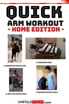 Quick Home Arm Workout