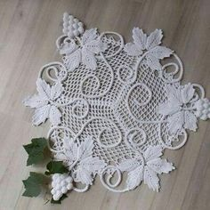 Crochet Butterfly Pattern, Free Crochet Doily Patterns, Crochet Flower Tutorial, Crochet Motif, Crochet Doilies, Crochet Flowers, Freeform Crochet, Filet Crochet, Irish Crochet