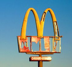 McD abandoned golden arches..