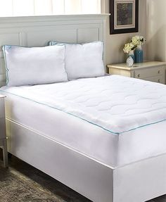 With its cool-touch technology and quick drying, breathable sports knit, TempaCool Mattress Pad or Bed Pillow puts an end to nights spent tossing and turning be