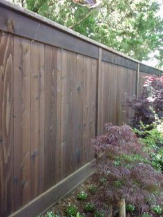 double-sided- Cheap Fence Ideas | Eichler Fence Ideas | Mid-Century Modern Fences | Fence Pictures