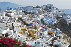 The color of Santorini. you ready to go? The color of Santorini. you ready to go? Places Around The World, Oh The Places You'll Go, Places To Travel, Places To Visit, Travel Destinations, Santorini Island, Santorini Greece, Fira Greece, Wonderful Places