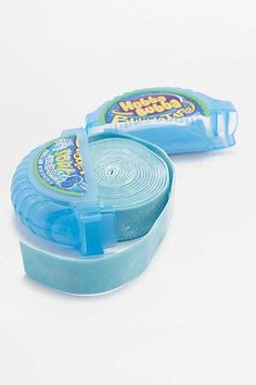 Shop Hubba Bubba Sour Blue Raspberry Flavour Bubble Gum Tape at Urban Outfitters today. Comida Disney, Gum Flavors, Little Girl Toys, Blue Candy, Favorite Candy, Chewing Gum, Cute Girl Outfits, Aesthetic Food, Food Cravings